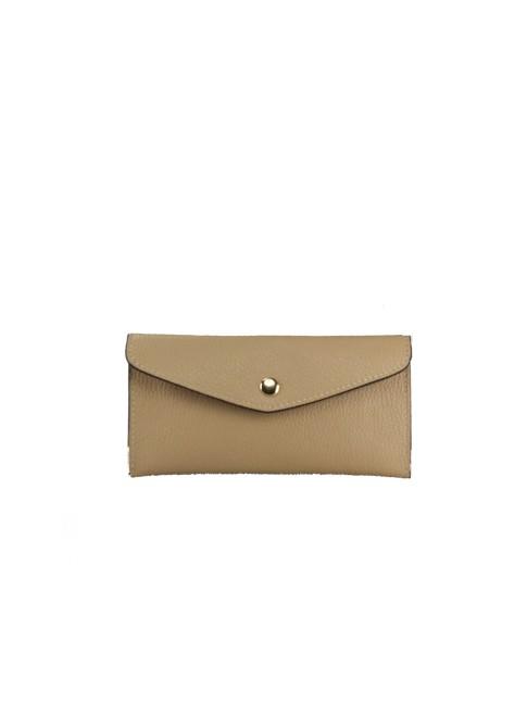 Trunk Leather bag with shoulder strap