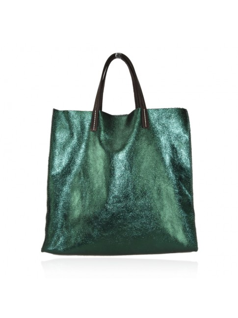 Borsa shopping donna in pelle