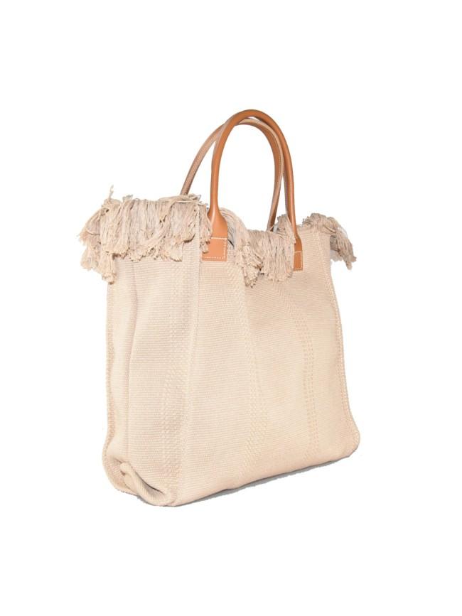 Woman washed shopping bag