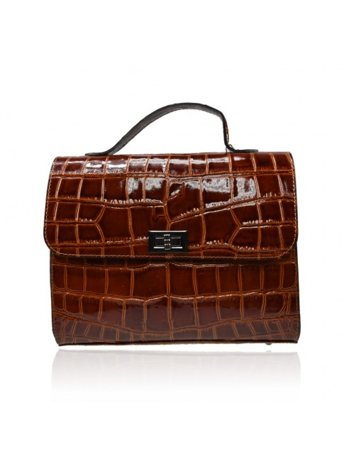 Woman synthetic business bag