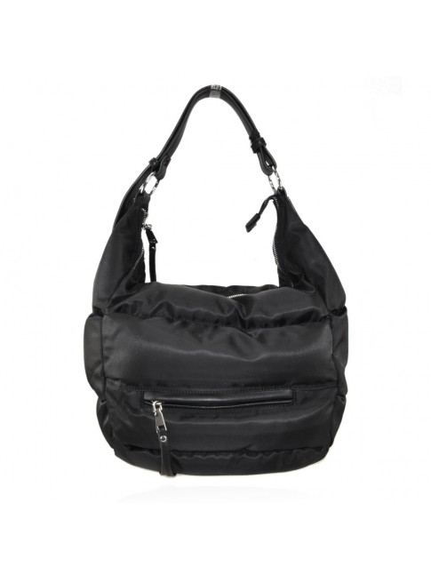 Woman sythetic leather shopping bag