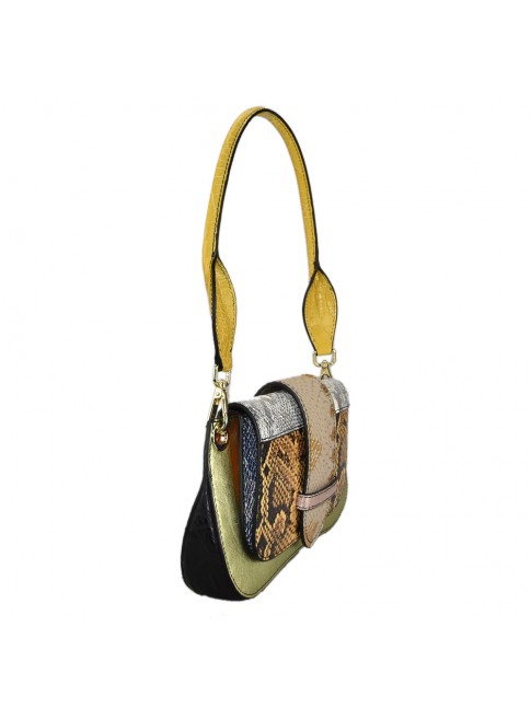 Woman leather shoulder bag - IP45850