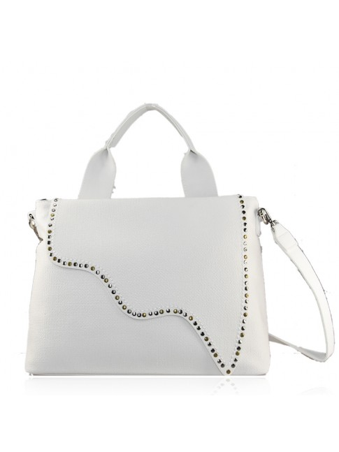Woman synthetic leather bag - H0109