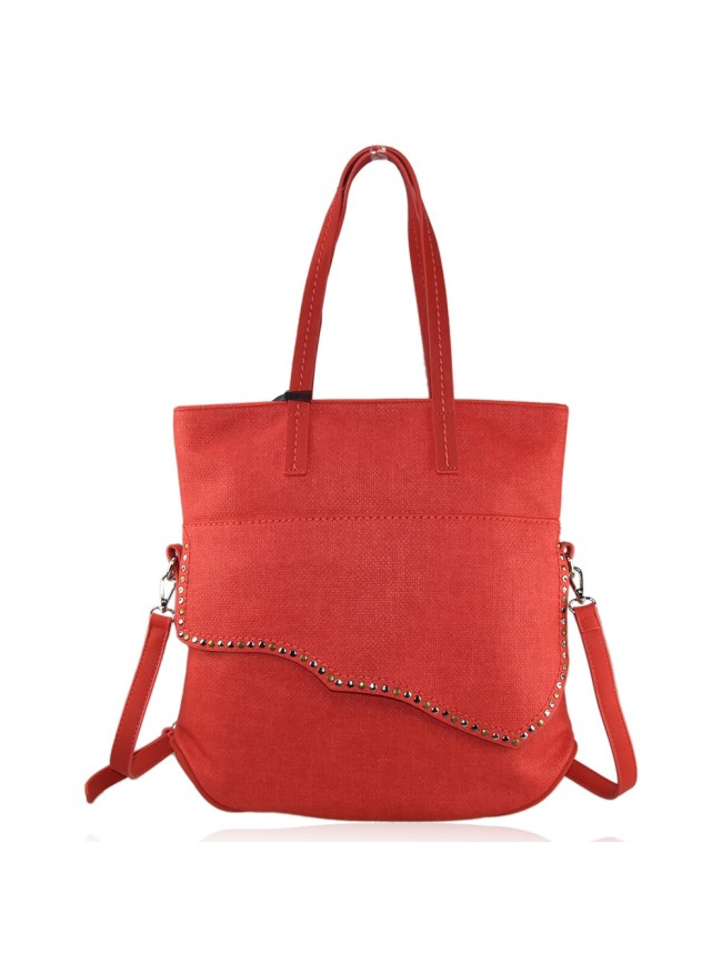 Woman sythetic leather bag - H0108