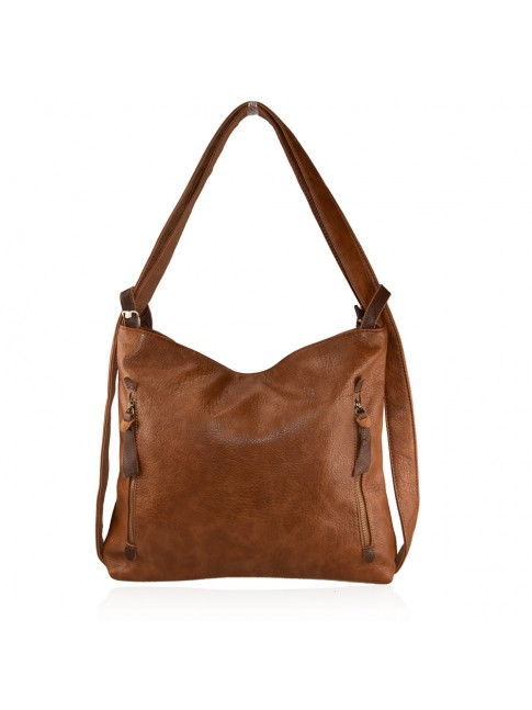 Convertible shoulder bag in backpack - PB-593
