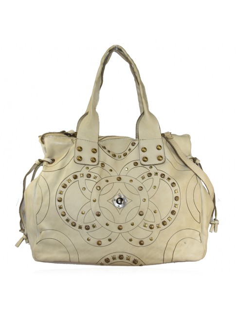 Woman washed leather bag - YF52857