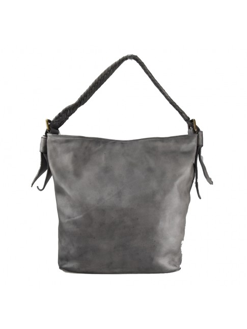 Woman washed leather bag - PL59865