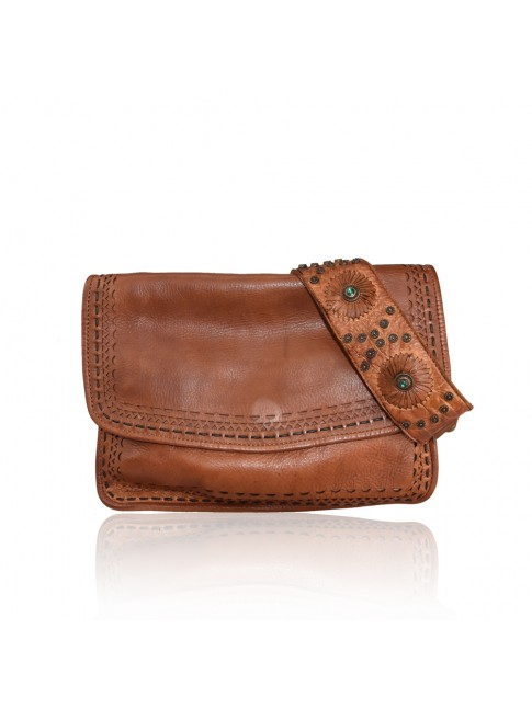 Woman washed leather bag - PL39843