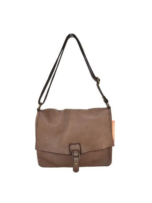 Woman  leather & textile bag - Backbag - 70520
