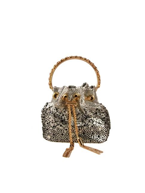 Leather bag with shoulder strap - FM29832