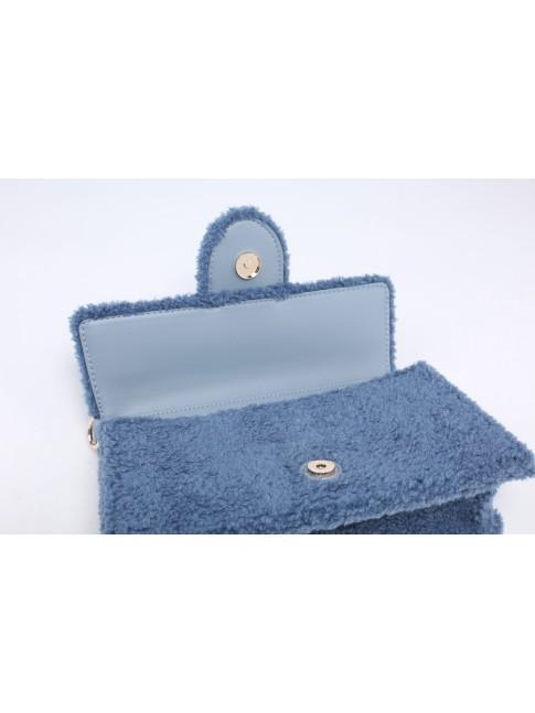 Woman textile shoulder bag - H0126