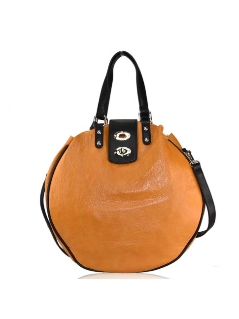 Woman synthetic leather bag - LK172
