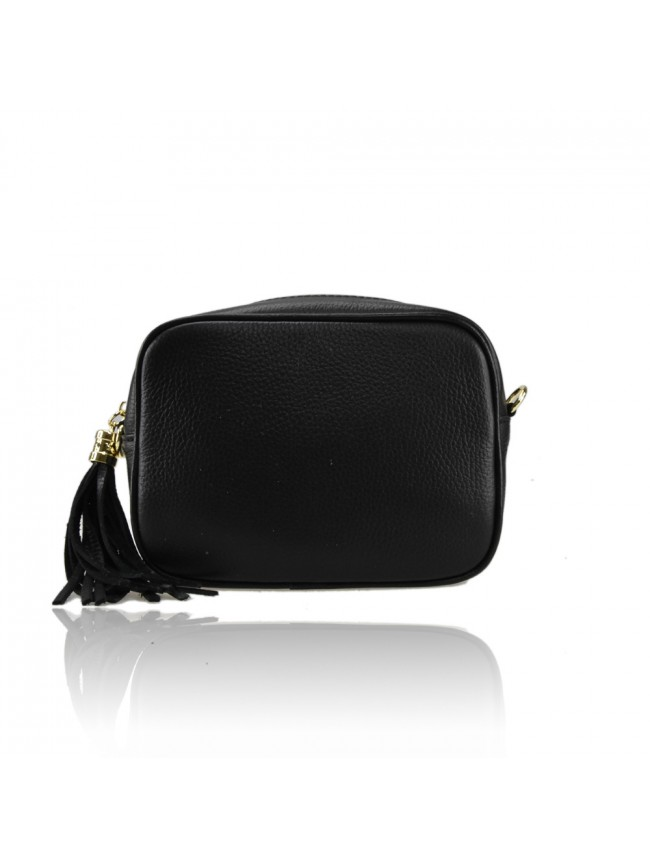 Leather bag with shoulder strap - JL19821