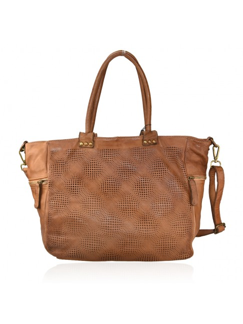 Shoulder woman washed laser bag - ZH55861