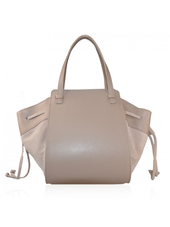 Hand leather bag with shoulder strap - LW38842