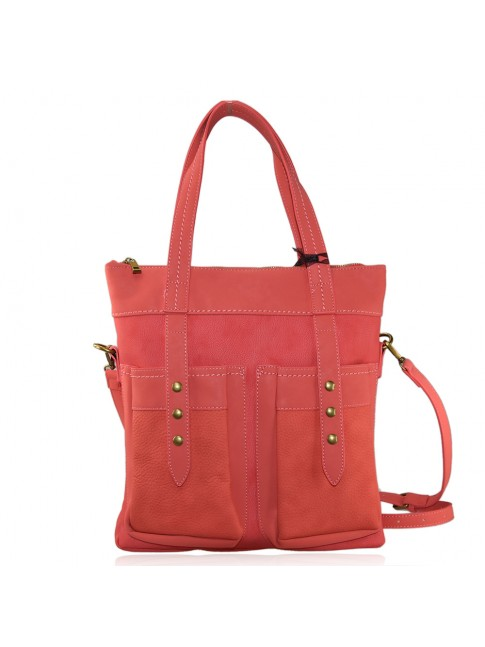 Woman synthetic leather bag - LK127