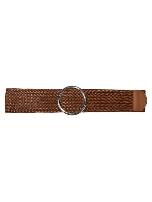 Woman raffia elastic belt - 20314-6