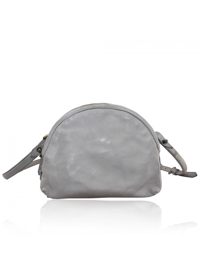 Woman washed leather pochette - FR42846