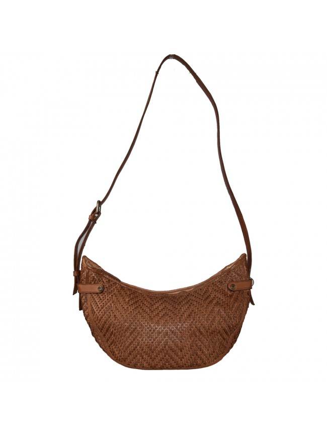 Woman washed leather bag & pouch - FR55861