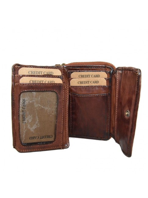 Woman washed leather wallet - 501