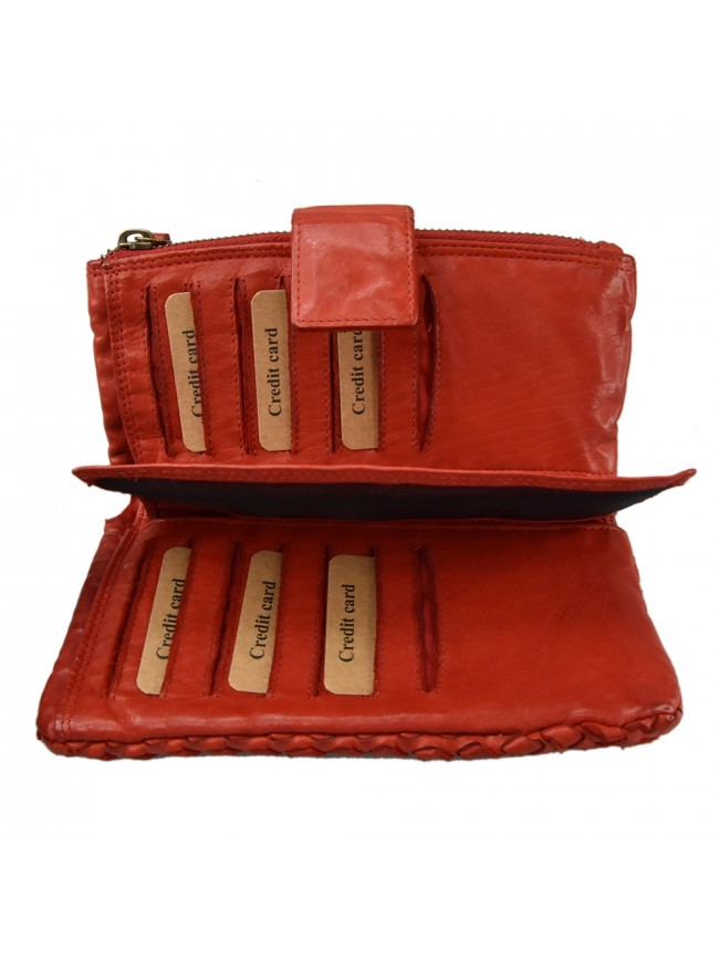 Woman washed leather wallet - 502