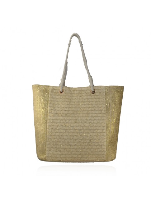 Woman straw beach bag - 2300