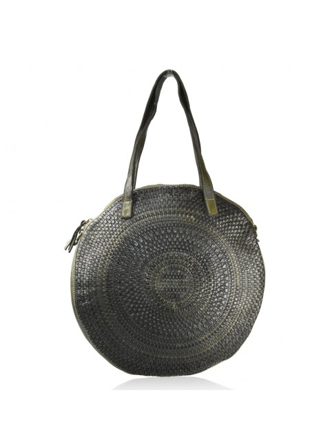 Woman washed leather bag - NC58864