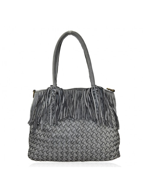 Woman washed leather bag - ZX59865