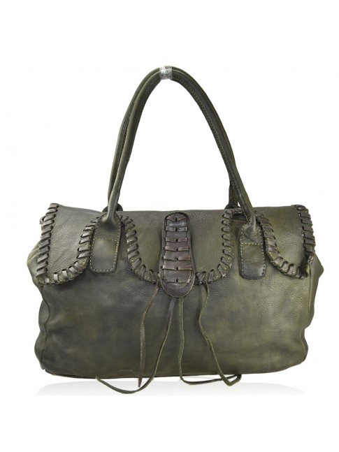 Woman washed leather bag - ZJ59865