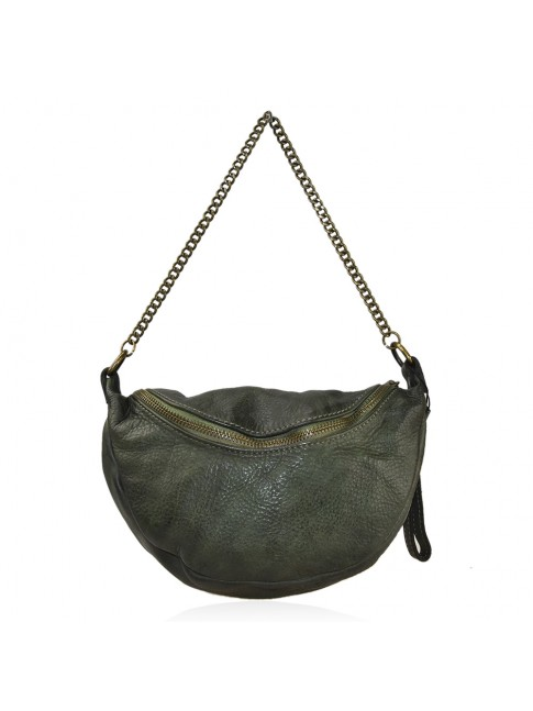 Woman vintage leather shoulder bag - SP29832