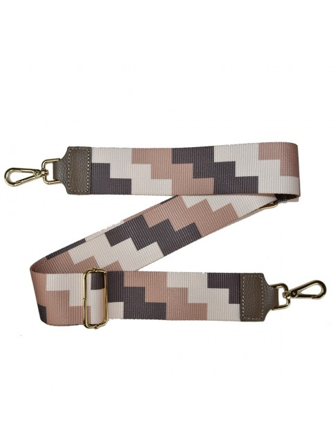 Leather & textie strap for bag - TR100