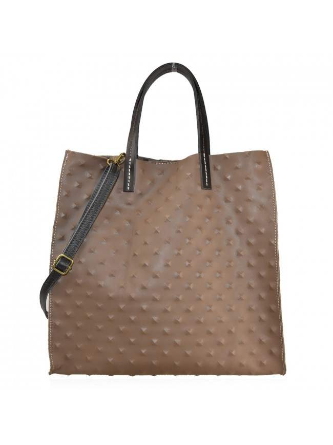 Woman stamp leather bag - FL38842