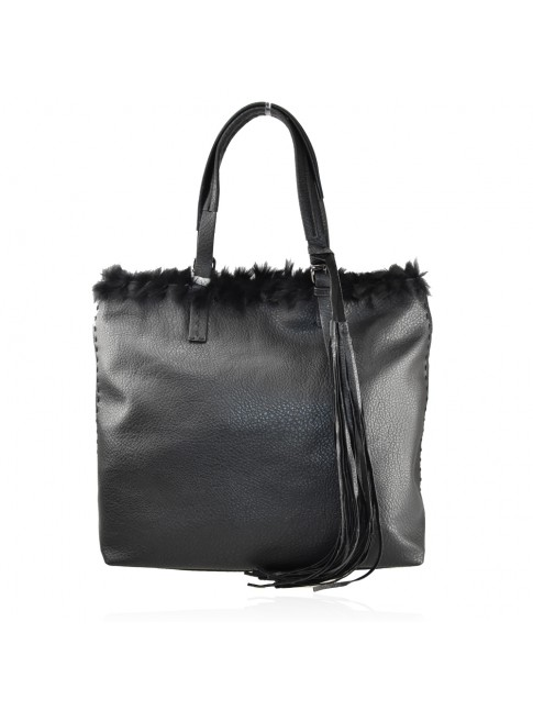 Woman synthetic leather bag - PF652