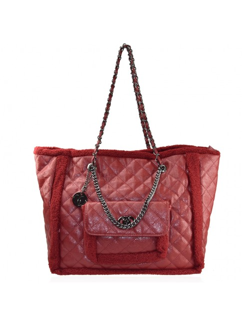 Woman synthetic leather shoulder bag - 2920-121