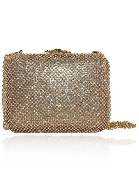Woman clutch with chain - V4136