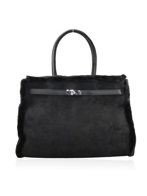 Woman synthetic leather bag - M1808