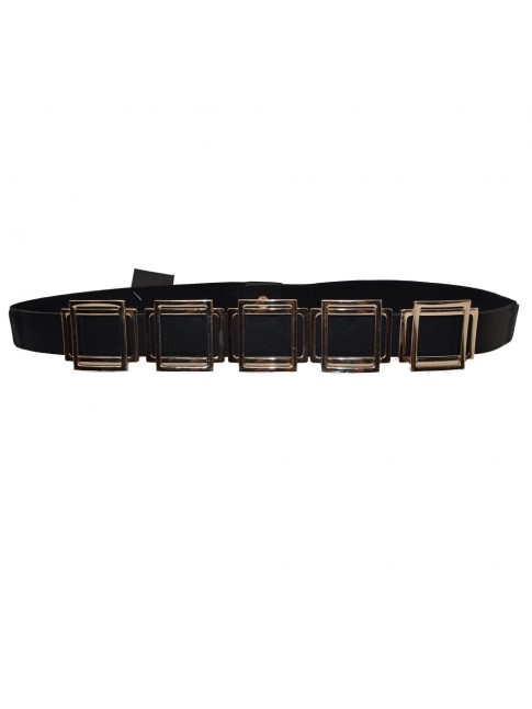Woman synthetic leather elastic belt - CT3058