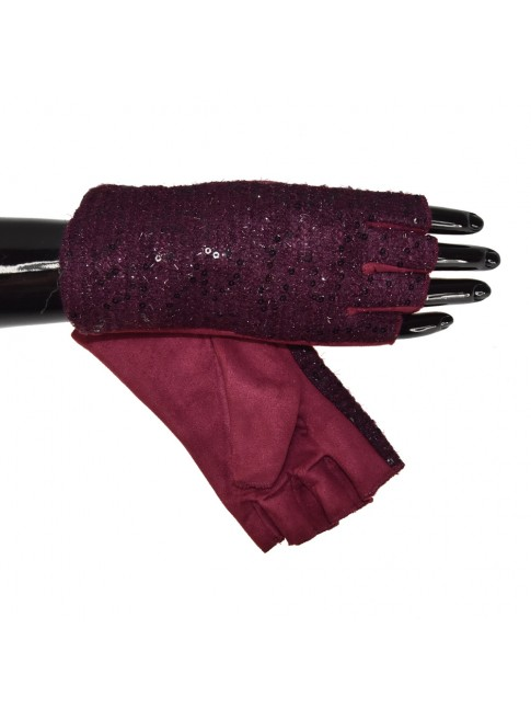 Short  soft fabric glove - YN0291