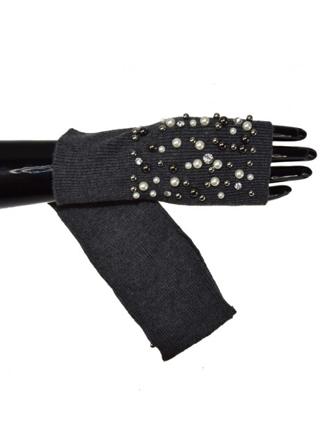Short  soft fabric glove - YN0259