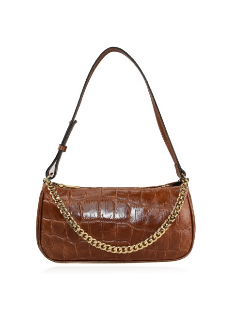 Woman leather shoulder bag - KL28831
