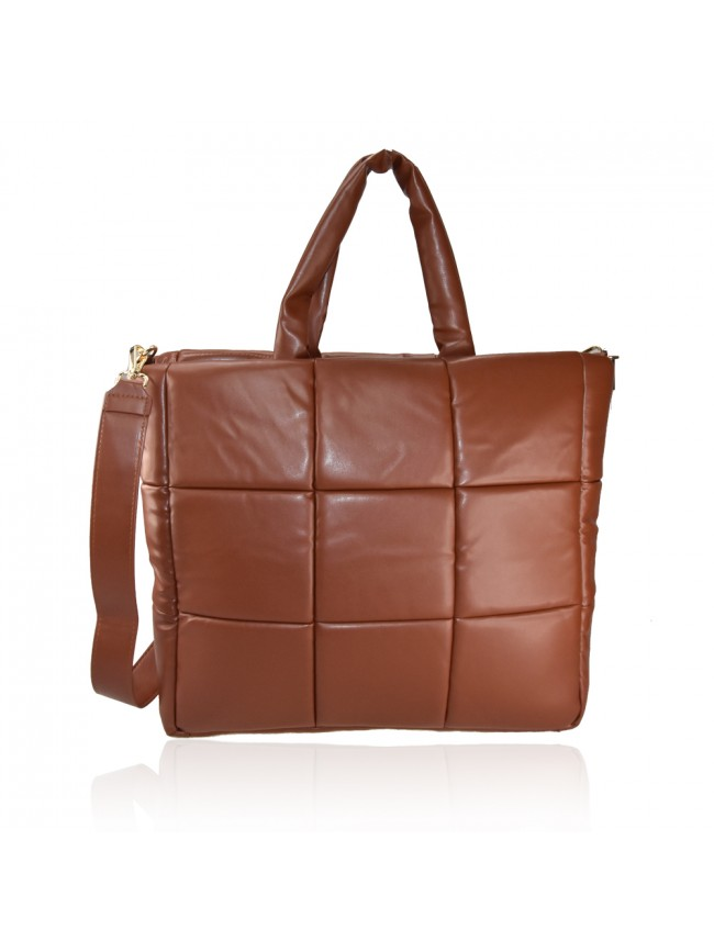 Woman synthetic leather shoulder bag - BO1607