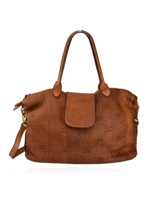 Woman washed leather bag - SV58864
