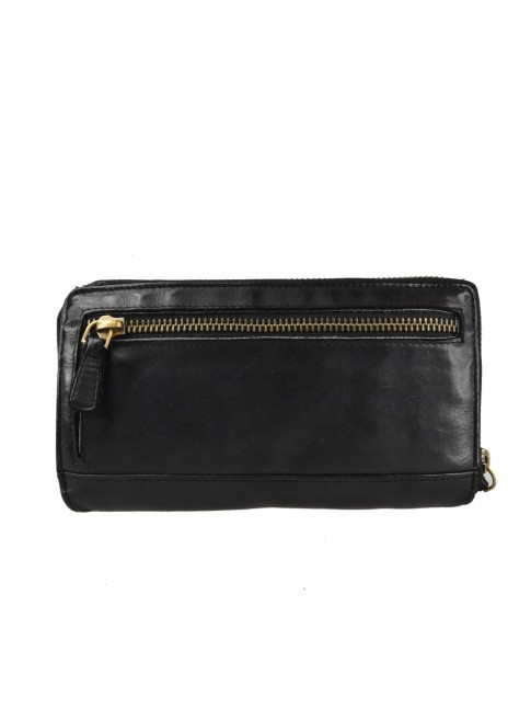 Woman washed leather wallet - 504