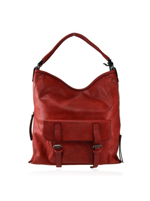Woman synthetic leather bag - 2106