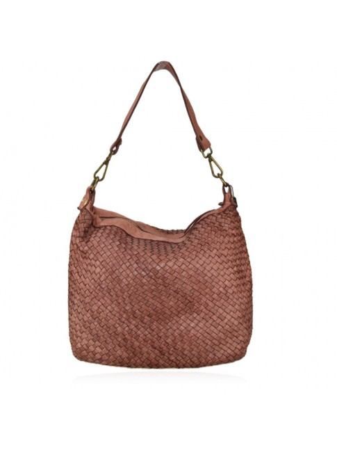 Little shopping woven leather bag - AY42846