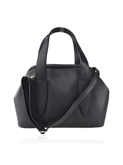 Trunk Leather bag with shoulder strap - LY39843
