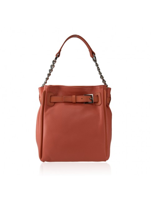 Woman leather shoulder bag - HJ39843