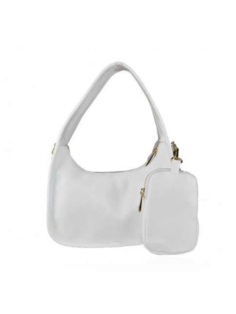 Woman leather shoulder bag - NP29832