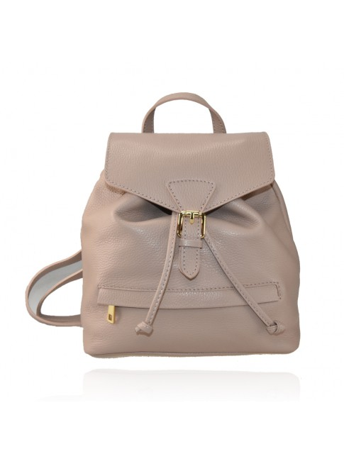Leather backpack made italy - LZ35838