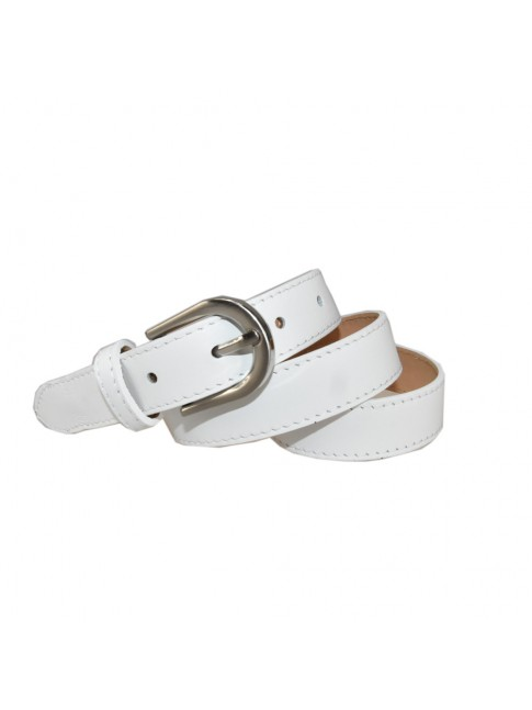 Woman leather belt made Italy - CL50